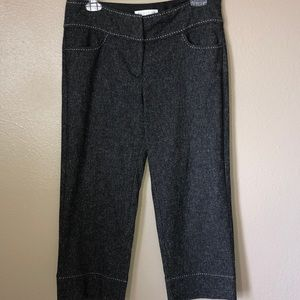 WHBM tweed crop pants